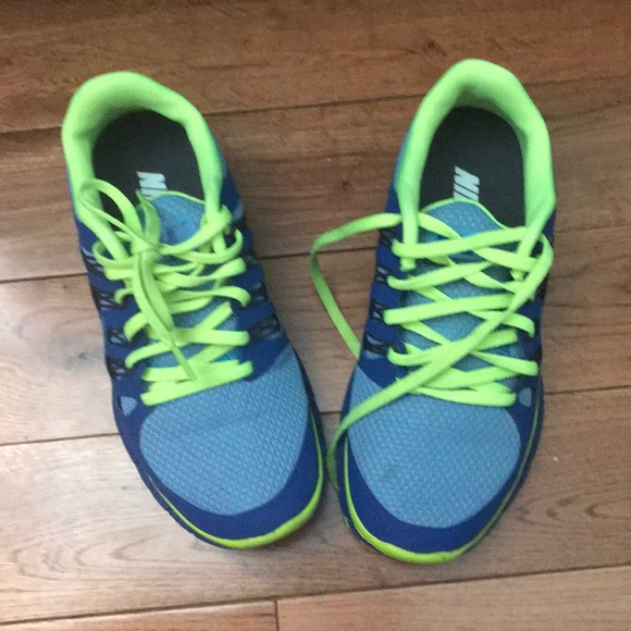 Nike Shoes | Lime Green And Blue Nike